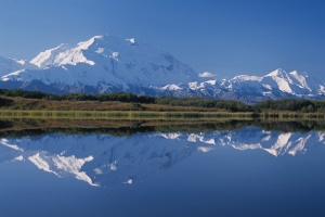 Denali-from-reflection-pond